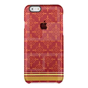 Trendy pattern men's iPhone six phone case design Uncommon Clearly™ Deflector iPhone 6 Case