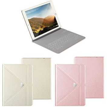 Ultra Thin Apple iPad Touch Sensor Surface Keyboard With Case And Stand
