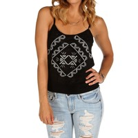 Sale-black Aztec Tank Top
