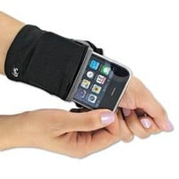 Phone Wrist Wallet, Fabric Wrist Wallet, Hands-Free Wallet | Solutions