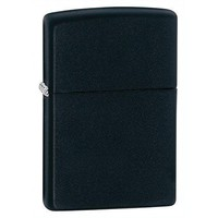 Authentic Zippo Pocket Lighter, Classic Black Matte Best Selling Zippo