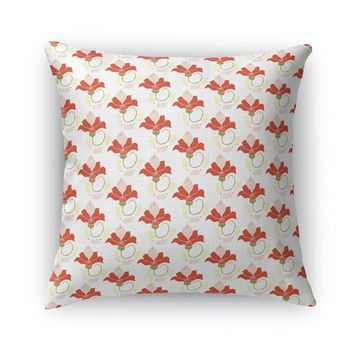 FRENCH FLOWERS Accent Pillow By Heidi Miller
