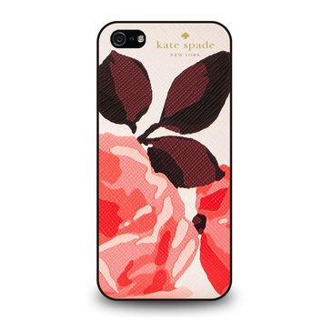 KATE SPADE CAMEROON STREET ROSES 3 iPhone 5 / 5S / SE Case