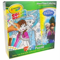 Disney's Frozen Color Your Own Puzzle by Crayola