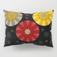 Color And Strawberrys Pillow Sham by Pepita Selles