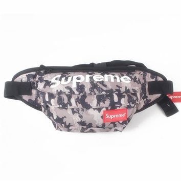Men's and Women's Supreme Chest Pockets Oxford Casual Riding Bag 017