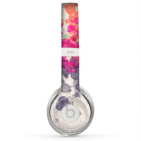 The Vintage WaterColor Droplets Skin for the Beats by Dre Solo 2 Headphones