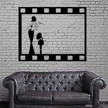 Wall Stickers Vinyl Decal Vintage Hollywood Movie Filmstrip Cool Decor (ig933)