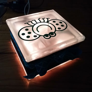 Handmade Light Block Frosted Night Light