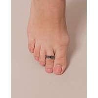 Fair Trade Tribal Gemstone Toe Ring