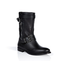 Burberry London - Suede Buckle Detailed Grantville Boots