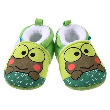 Baby Moccasins Cartoon Animal Soft Baby Shoes Winter Cotton Warm First Walker Fashion Shoes for Boys Girls