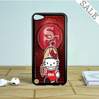 49ers Hello Kitty iPod Touch 5 Case