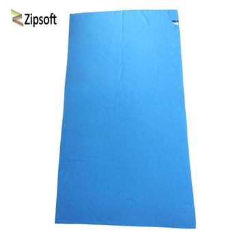 Zipsoft Beach towel Microfiber Travel Fabric Quick Drying outdoors Sports Swimming Camping Bath Yoga Mat Blanket Gym Adults