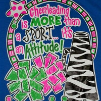 Southern Chics Funny Cheer Sport Cheerleader Sweet Girlie Bright Shirt