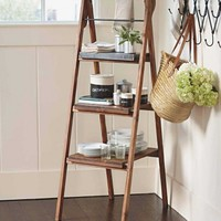 Standing Shelf Ladder - VivaTerra