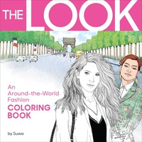 Storey Publishing-The Look Coloring Book