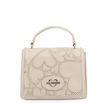 Love Moschino Women White Handbags