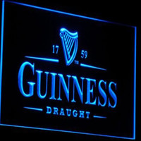 Business Supplies - Guiness Draught Novelty Neon Sign