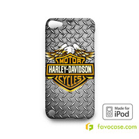 JOHN DEERE Tractor Logo iPod Touch 4, 5 Case Cover