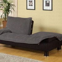 Coaster Home Furnishings Contemporary Sofa Bed, Dark Grey