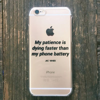 My Patience - iPhone 6s Case - Jac Vanek