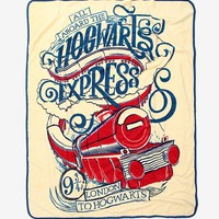 Harry Potter Hogwarts Express Throw Blanket