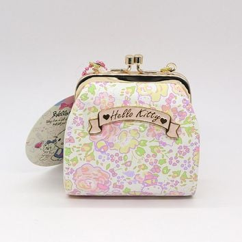 Hello Kitty coin purse for children,