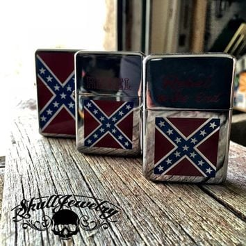Rebel Flag Lighters (3 To Choose From)