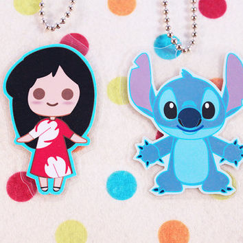 Lilo and Stitch Keychains