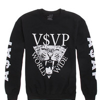 A$AP Worldwide A$AP Tiger Crew Fleece at PacSun.com