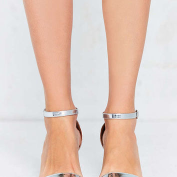 Linda Silver Heel | Urban Outfitters