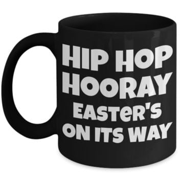 Hip Hop Hooray Fun Kid Mug Cup For Children Black Bpa Free Chocolate Cookies Jar Coloring Marker Holder Drink Mugs For Cocoa Milk Juice Best Affordable Holiday Gift For Kids 2017 2018