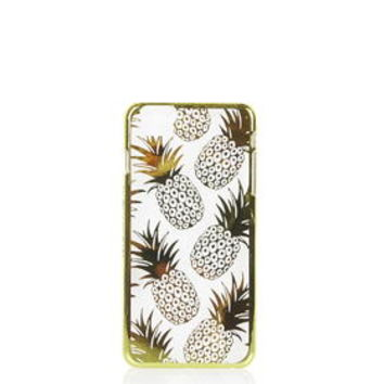 **Gold Pineapple iPhone 6 Plus Case by Skinnydip - Gold