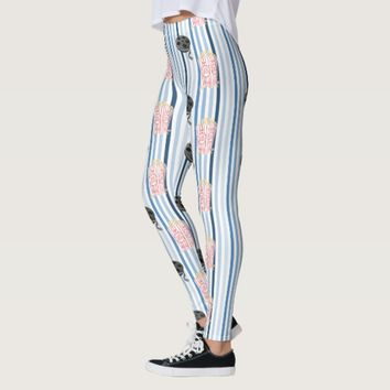 Date Night Family Movie Night Leggings