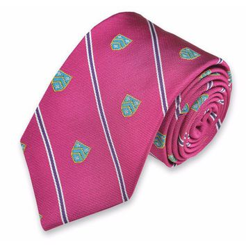 Caldwell Neck Tie in Ruby by High Cotton