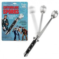 Always Prepared: Switchblade Spork | Incredible Things