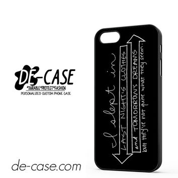 Fall Out Boy Quote DEAL-4058 Apple Phonecase Cover For Iphone 5 / Iphone 5S