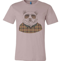 Cardigan Bear Silly T-shirt