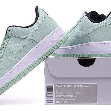 Nike Air Force 1 WMNS Mint Green For Women Men Running Sport Casual Shoes Sneakers