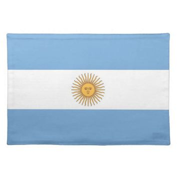 Argentinian Flag MoJo Placemat