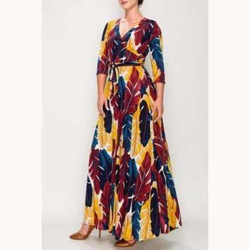 Treat Her Like a Lady Maxi Dress