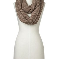Factory Ribbed Cowl Scarf Size One Size
