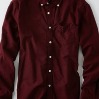AEO Men's Oxford Button Down Shirt