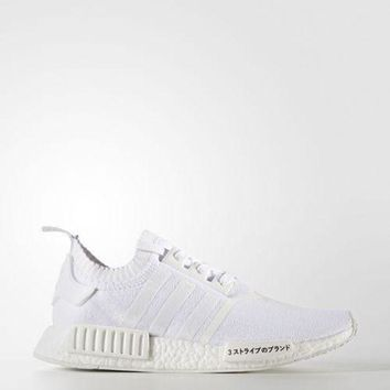 ONETOW Adidas NMD R1 Primeknit PK Japan 'Triple White' UK13