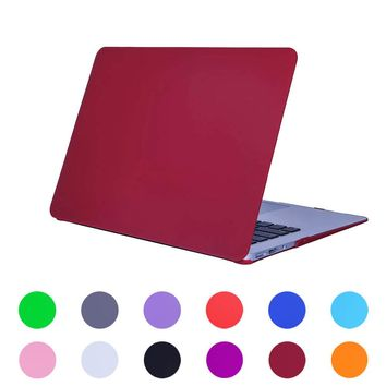 New PC Rubberized Matte Shockproof Case Shell Cover for Apple MacBook Air 11.6' and 13.3'