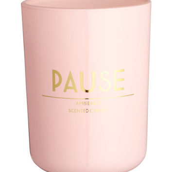 H&M Scented Candle in Glass Holder $12.99