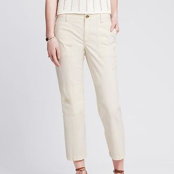 Banana Republic Womens Heritage Distressed Utility Crop