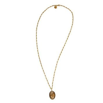 Alex and Ani Saint Francis Necklace - Russian Gold