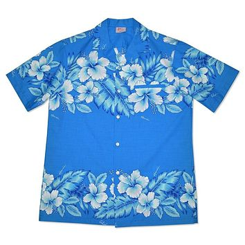 moana hawaiian cotton blend shirt